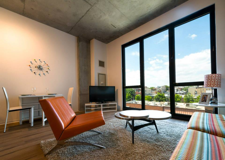 New Construction Wicker Park High Rise Apartments On