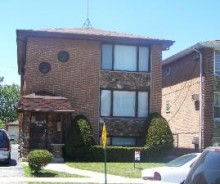 Calumet City Triplex Multi-Family Building