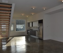 NEW CONSTRUCTION TOWNHOUSE 2  – 3 bed / 2 bath – MODERN LUXURY APARTMENT WITH PRIVATE YARD (PET FRIENDLY)