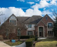 Homer Glen Luxury 6 Bedroom / 5.5 Bathroom Home with Inground Pool in Hidden Valley Estates Community