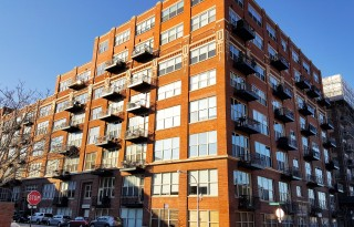Luxury One-Bedroom Brick Condo For Sale in West Loop