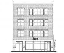Lincoln Park New Construction Retail For Lease on Halsted & Wrightwood