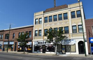 Rogers Park Newly Renovated Mixed Use Building For Sale on Clark Street