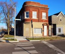 West Englewood 4 Flat Income Producing Brick Building For Sale