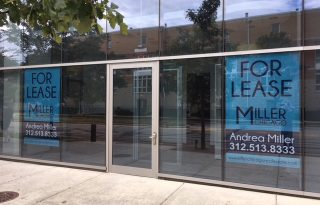 Evanston Prime First Floor Retail For Lease in Luxurious E2 Apartment Building