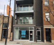 Ukrainian Village New Construction Retail For Lease on Chicago Avenue