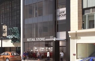 Central Loop Retail / Restaurant Space For Lease on Clark at Madison