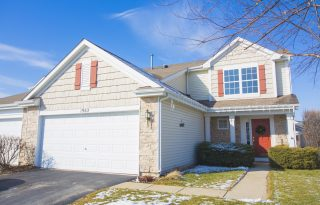 Pingree Grove 2-Bedroom Duplex with Garage For Sale
