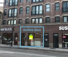 Prime Wicker Park Retail / Office For Lease on Milwaukee at Ashland